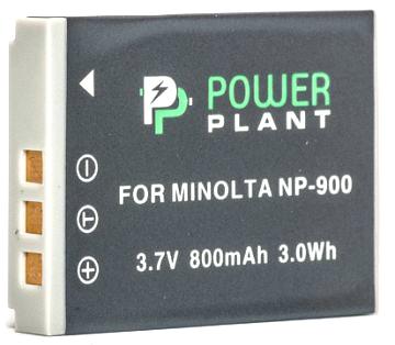 Купить Аккумулятор PowerPlant Minolta NP-900, Li-80B 800mAh