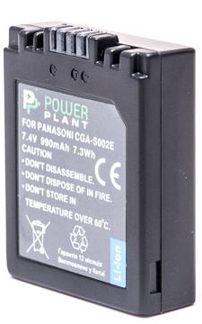 Купить Аккумулятор PowerPlant Panasonic CGA-S002, DMW-BM7 990mAh