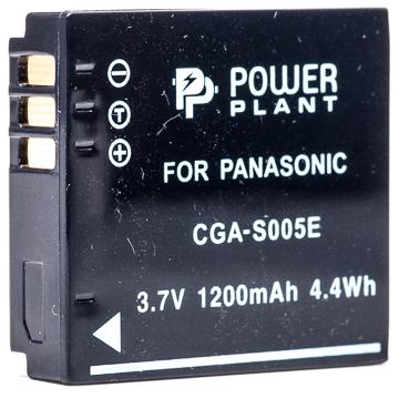 Купить Аккумулятор PowerPlant Panasonic S005E, NP-70 1200mAh
