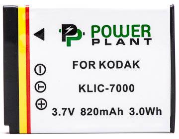 Купить Аккумулятор PowerPlant Kodak KLIC-7000 820mAh