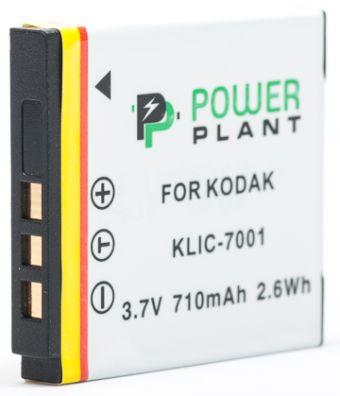 Купить Аккумулятор PowerPlant Kodak KLIC-7001 710mAh