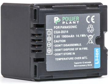 Купить Аккумулятор PowerPlant Panasonic CGA-DU14 1900mAh