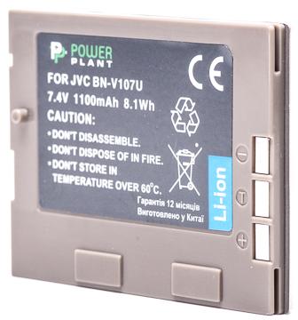Купить Аккумулятор PowerPlant JVC BN-V107U 1100mAh