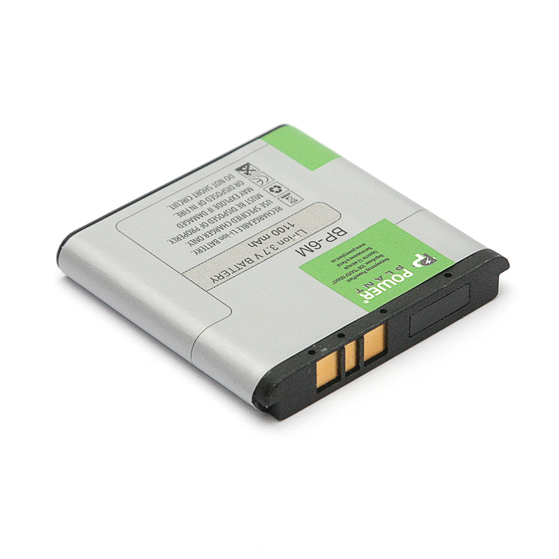 Купить Аккумулятор PowerPlant Nokia 3250, 6280 (BP-6M) 1100mAh
