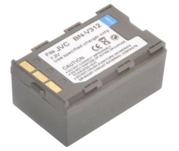 Купить Аккумулятор PowerPlant JVC BN-V312 1360mAh