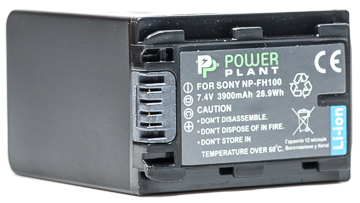 Купить Aккумулятор PowerPlant Sony NP-FH100 3900mAh