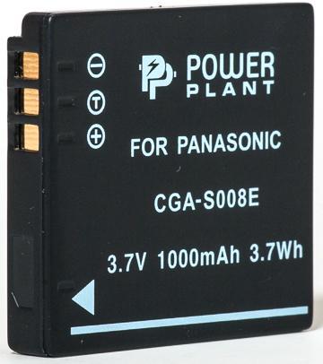 Купить Аккумулятор PowerPlant Panasonic CGA-S008, DB-70, DMW-BCE10 1000mAh