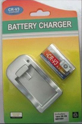 Купить Аккумулятор c зарядным устройством PowerPlant Olympus LI-O1B, CRV3