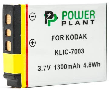 Купить Аккумулятор PowerPlant Kodak KLIC-7003 1300mAh