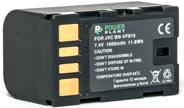 Купить Аккумулятор PowerPlant JVC BN-VF815 1600mAh