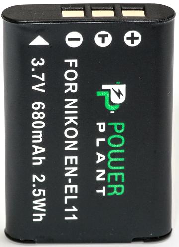 Купить Аккумулятор PowerPlant Nikon EN-EL11,D-Li78, DB-80, Li-60B 680mAh