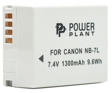 Купить Аккумулятор PowerPlant Canon NB-7L 1300mAh