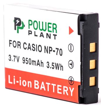 Купить Аккумулятор PowerPlant Casio NP-70 950mAh