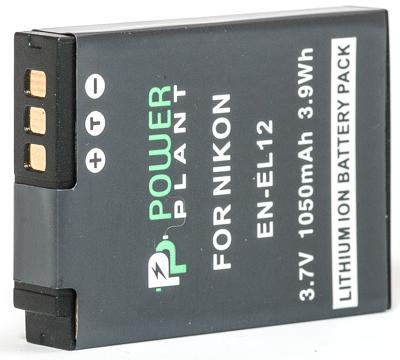 Купить Аккумулятор PowerPlant Nikon EN-EL12 1050mAh