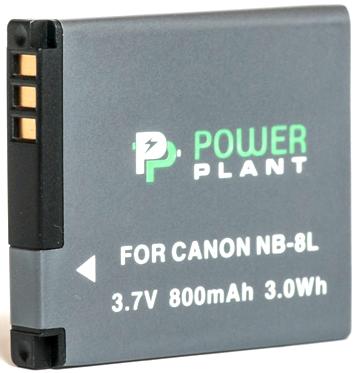 Купить Аккумулятор PowerPlant Canon NB-8L 800mAh