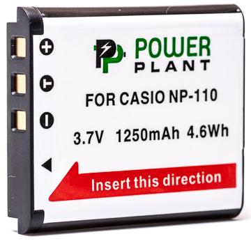 Купить Аккумулятор PowerPlant Casio NP-110 1250mAh