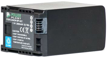 Купить Аккумулятор PowerPlant Canon BP-827 Chip 2800mAh