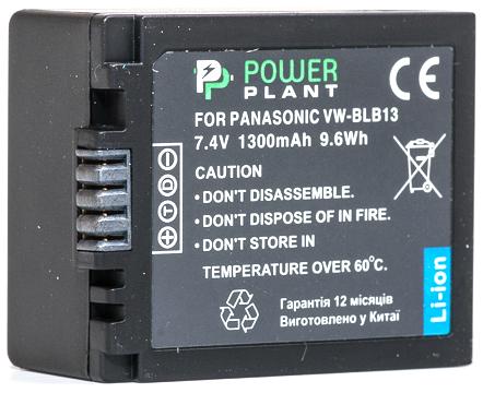Купить Аккумулятор PowerPlant Panasonic DMW-BLB13 1300mAh