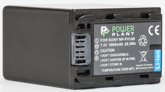 Купить Aккумулятор PowerPlant Sony NP-FV100 3900mAh