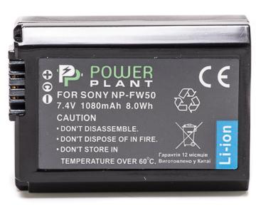 Купить Aккумулятор PowerPlant Sony NP-FW50 1080mAh