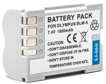 Купить Аккумулятор PowerPlant Olympus PS-BLM5 1800mAh