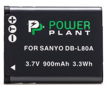 Купить Аккумулятор PowerPlant Sanyo DB-L80, D-Li88 900mAh