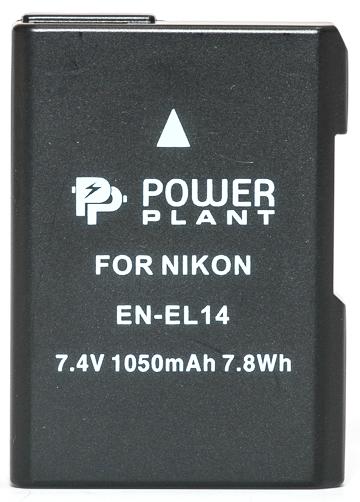 Купить Аккумулятор PowerPlant Nikon EN-EL14 Chip 1050mAh