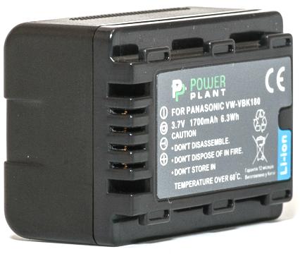 Купить Аккумулятор PowerPlant Panasonic VW-VBK180 1700mAh