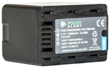 Купить Аккумулятор PowerPlant Panasonic VW-VBK360 3400mAh