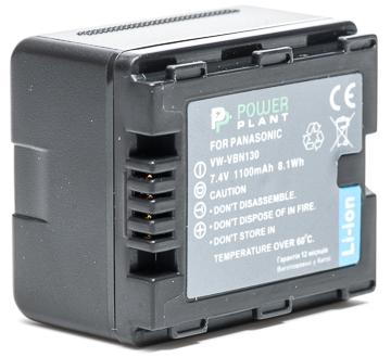 Купить Аккумулятор PowerPlant Panasonic VW-VBN130 1100mAh