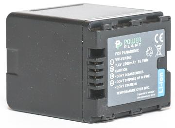 Купить Аккумулятор PowerPlant Panasonic VW-VBN260 2200mAh