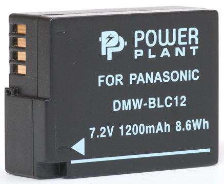 Купить Аккумулятор PowerPlant Panasonic DMW-BLC12, DMW-GH2 1200mAh