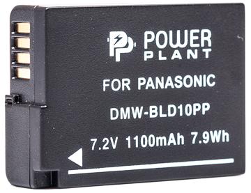Купить Аккумулятор PowerPlant Panasonic DMW-BLD10PP 1100mAh