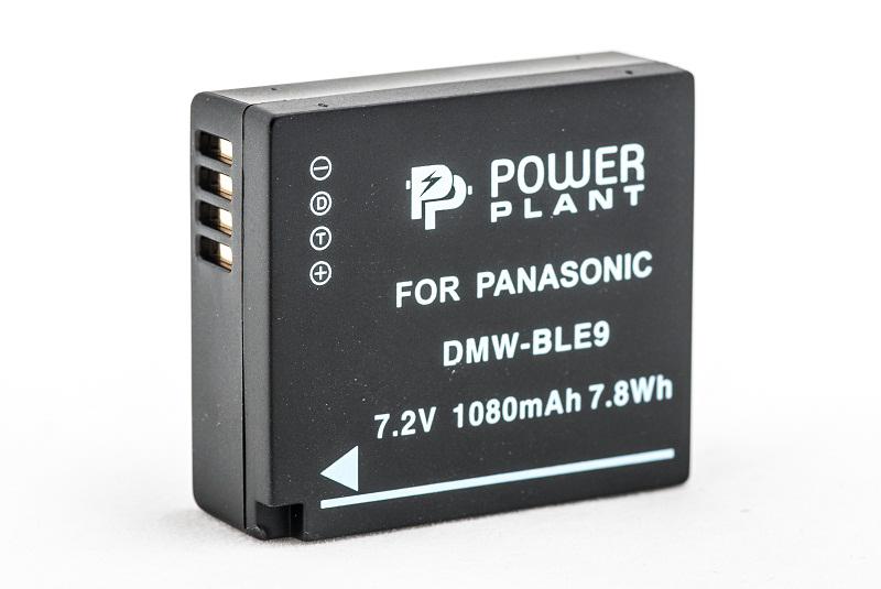 Купить Аккумулятор PowerPlant Panasonic DMW-BLE9 1080mAh