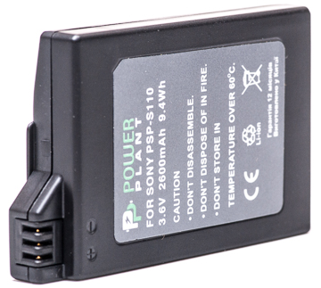 Купить Aккумулятор PowerPlant Sony PSP-S110/2000/2600/S360 2600mAh