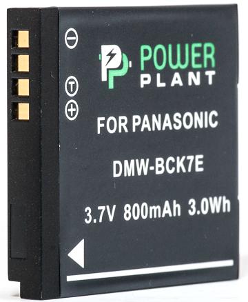 Купить Аккумулятор PowerPlant Panasonic DMW-BCK7E 800mAh