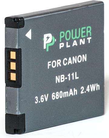 Купить Аккумулятор PowerPlant Canon NB-11L 680mAh