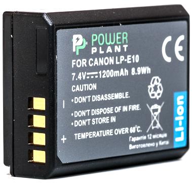 Купить Аккумулятор PowerPlant Canon LP-E10 1200mAh