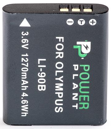 Купить Аккумулятор PowerPlant Olympus Li-90B 1270mAh