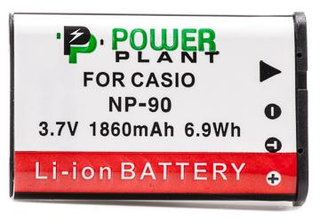 Купить Аккумулятор PowerPlant Casio NP-90 1860mAh