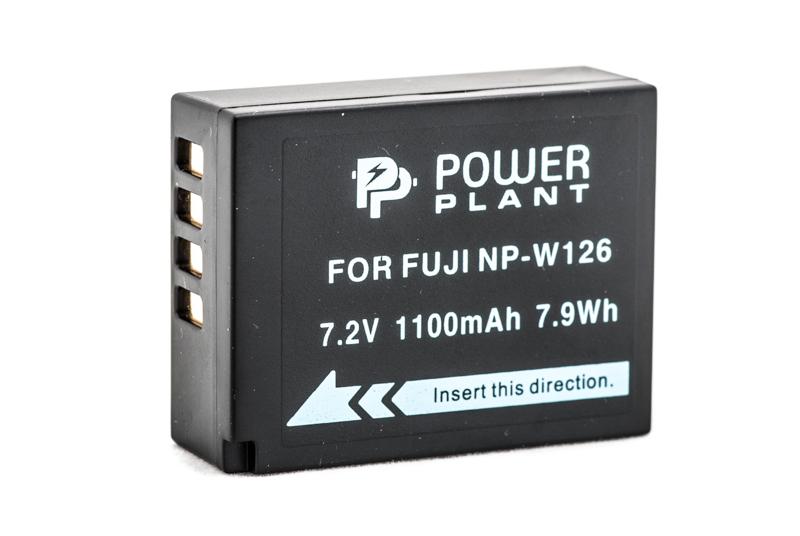 Купить Аккумулятор PowerPlant Fuji NP-W126 1110mAh