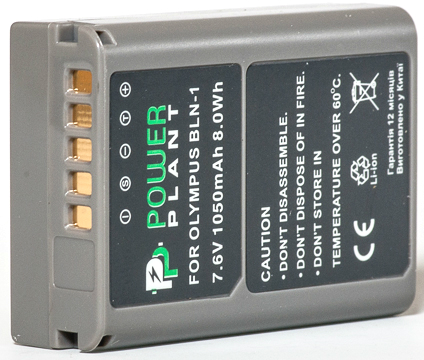 Купить Аккумулятор PowerPlant Olympus PS-BLN1 1050mAh