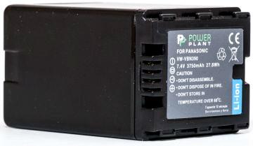 Купить Аккумулятор PowerPlant Panasonic VW-VBN390 3750mAh