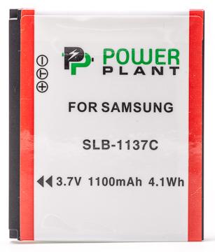 Купить Аккумулятор PowerPlant Samsung SLB-1137C 1100mAh