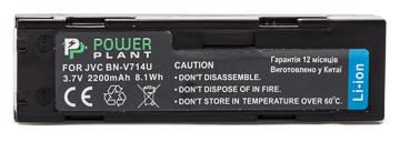 Купить Аккумулятор PowerPlant JVC BN-V714U 2200mAh