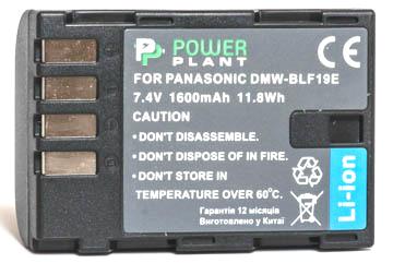 Купить Аккумулятор PowerPlant Panasonic DMW-BLF19 1600mAh