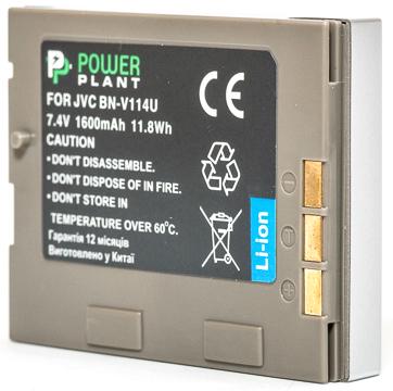 Купить Аккумулятор PowerPlant JVC BN-V114U 1600mAh