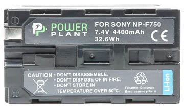 Купить Аккумулятор PowerPlant Sony LED NP-F750 4400mAh
