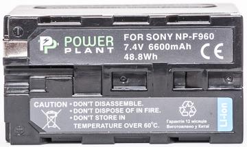 Купить Аккумулятор PowerPlant Sony LED NP-F960 6600mAh