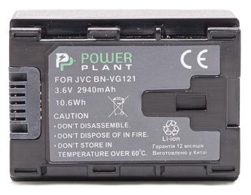 Купить Аккумулятор PowerPlant JVC BN-VG121 Chip 2940mAh
